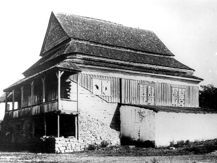 Synagogue in Yaryshev, Ukraine, c. 1941